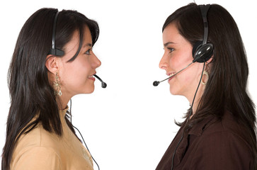 customer support face to face
