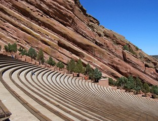 red rocks amphitheater denver