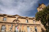 hôtel de ville - aix en provence poster