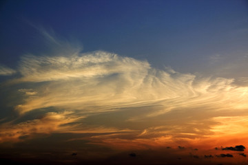 sky life sunset