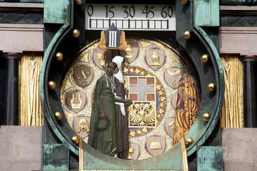 horloge art nouveau