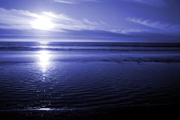 ocean blue sea