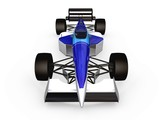 f1 blue racing car vol 2