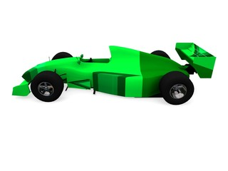 f1 green racing car vol 2