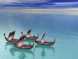 viking fleet 2 poster