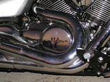 motorcycle reflections poster