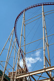 roller coaster curve poster