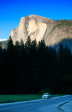 half dome, yosemite national park poster