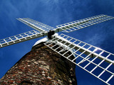 windmill from below poster