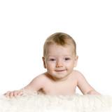 bébé couché - baby lying down ii poster