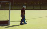 hockey goalkeeper poster