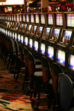 slot machines alignment poster
