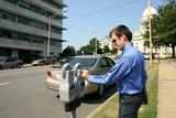 feeding parking meter poster