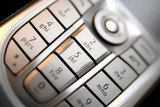 mobile phone keypad poster
