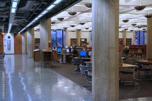 university library reading room