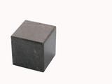 black stone cube poster