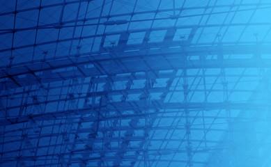 engineering blue background