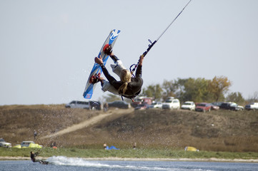 kitesurf freestyle