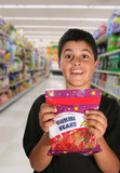 boy begging for candy (generic candy bag) poster