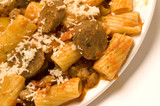 sausage and rigatoni poster