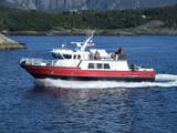 luxury motor boat yacht poster