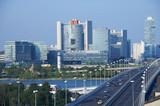 Fototapety center of economy