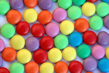 candy swirl - smarties poster