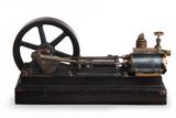 steam piston poster