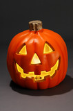 jack-o-lantern (with clipping path) poster