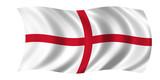 england fahne poster