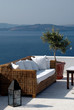 greek island view from patio
