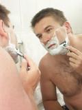 face shaving poster