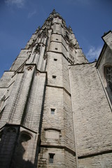 tower of monumental church