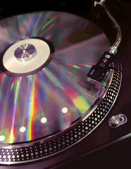 nightclub turntable 2