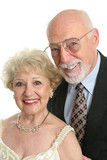 elegant seniors portrait poster