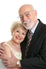 succesful senior couple in love