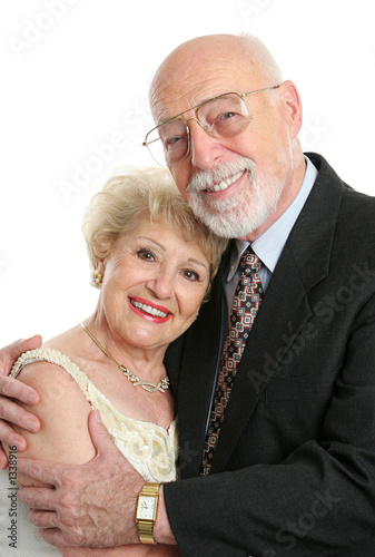 succesful senior couple in love