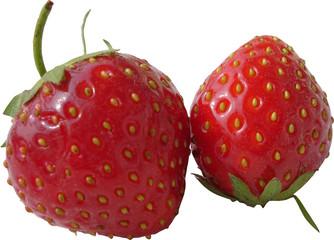 duo de fraises