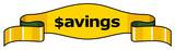 savings poster