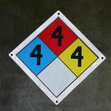 danger square poster