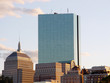 boston's back bay skyline