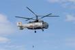 Leinwandbild Motiv ka-32 in sky
