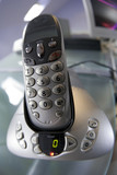 bt cordless phone and intercom system poster