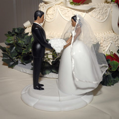 bridal cake top #2