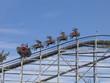 Leinwandbild Motiv up on the rollercoaster