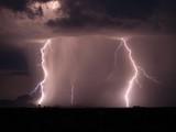 Fototapeta monsun - sztorm - Noc