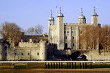 tower of london, tower, river, thames, england, poster