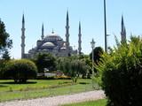 mosquée bleue poster