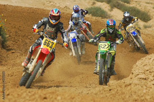 Staande foto Motorsport motocross