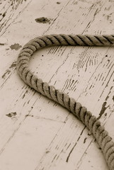 sail boat rope and rigging